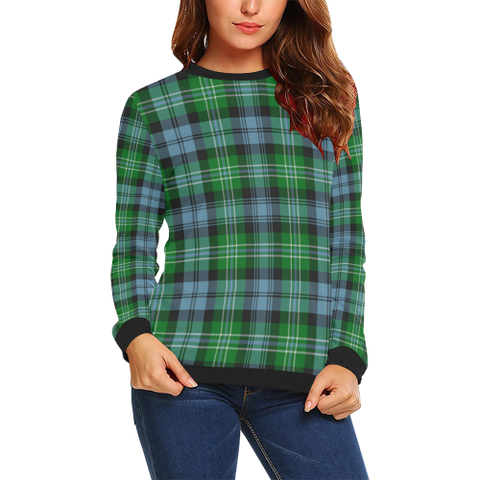 Arbuthnot Ancient Tartan Crewneck Sweatshirt TH8