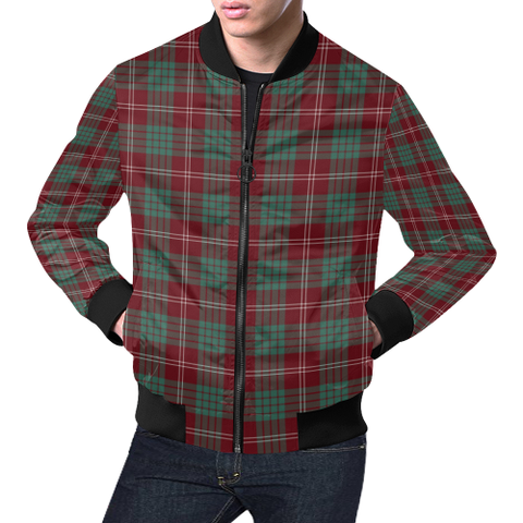 Crawford Modern Tartan Bomber Jacket | Scottish Jacket | Scotland Clothing