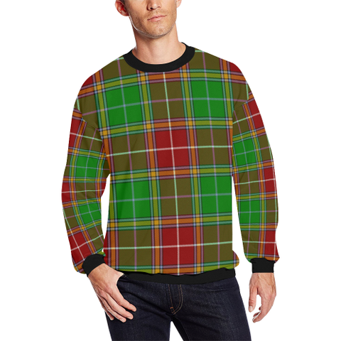 Image of Baxter Modern Tartan Crewneck Sweatshirt TH8