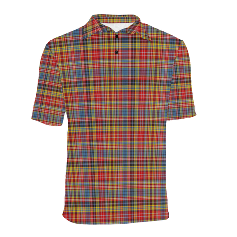 Image of Drummond of Strathallan  Tartan Polo Shirt HJ4