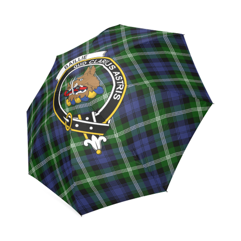 Baillie Modern Crest Tartan Umbrella TH8
