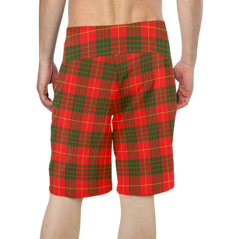 Cameron Modern Tartan Board Shorts TH8