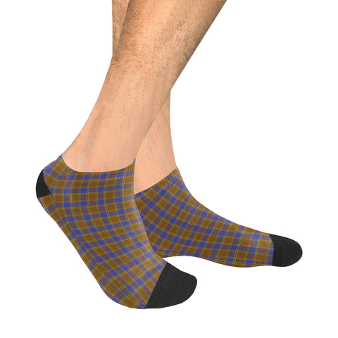 Balfour Modern Tartan Ankle Socks | scottishclans.co