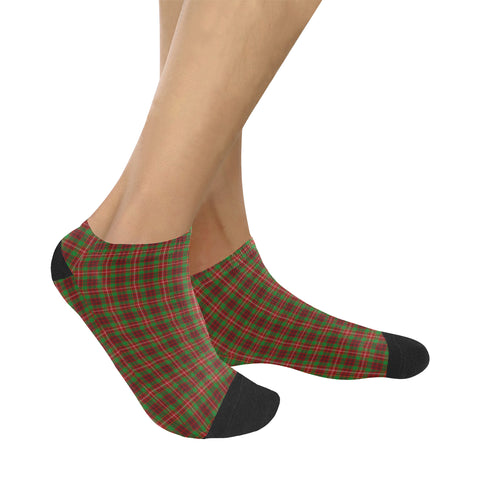 Image of Ainslie Tartan Ankle Socks K7