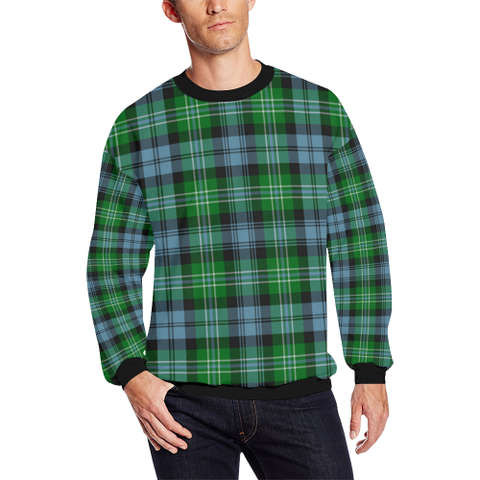 Image of Arbuthnot Ancient Tartan Crewneck Sweatshirt TH8