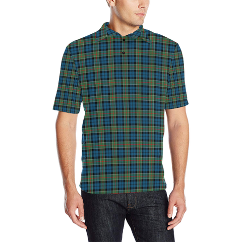 Colquhoun Ancient  Tartan Polo Shirt