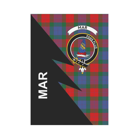 "Image of Mar Tartan Garden Flag - Flash Style 28"" x 40"""