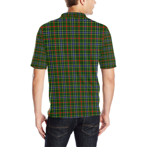 Bisset Tartan Clan Badge Polo Shirt HJ4