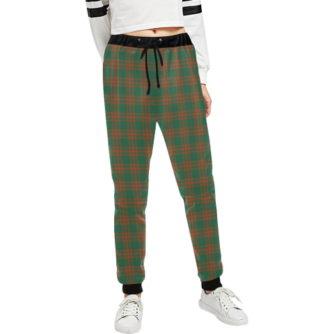Menzies Green Ancient Tartan Sweatpant | Great Selection With Over 500 Tartans