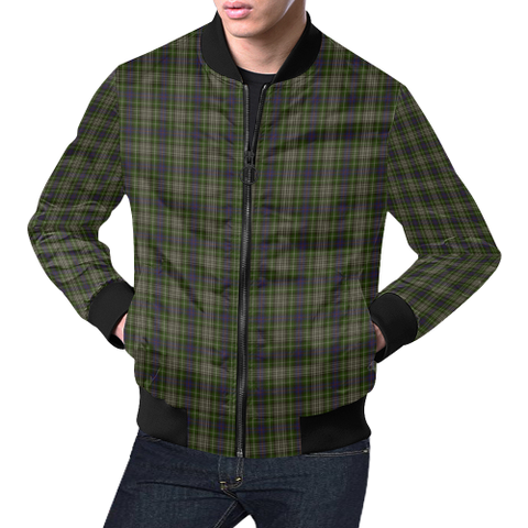 Davidson Tulloch Dress Tartan Bomber Jacket | Scottish Jacket | Scotland Clothing