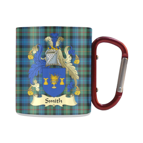 Smith Tartan Mug Classic Insulated - Clan Badge | scottishclans.co