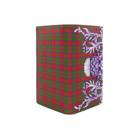 Image of MacKintosh Modern Tartan Wallet Women's Leather Thistle A91