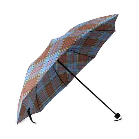 Image of Anderson Modern Crest Tartan Umbrella TH8
