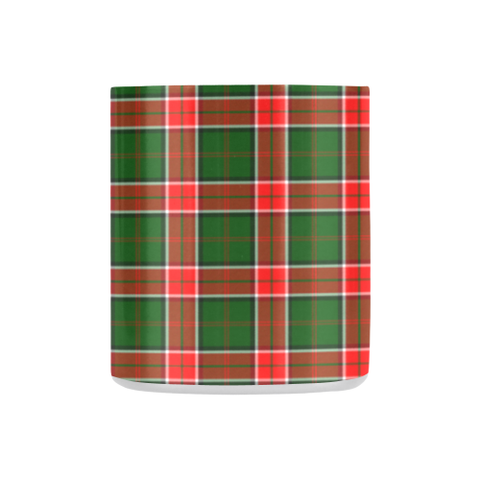 Pollock Modern Tartan Mug Classic Insulated - Clan Badge K7