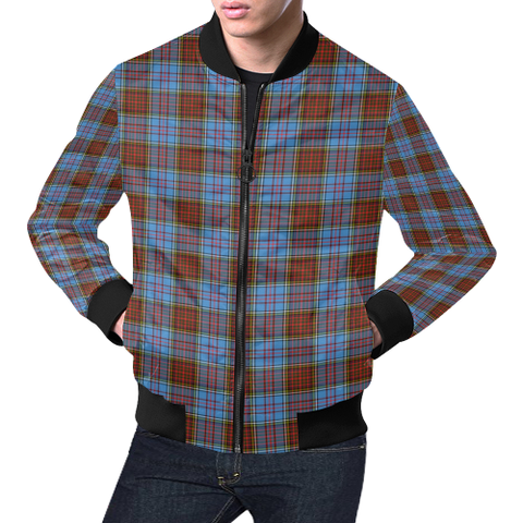 Anderson Modern Tartan Bomber Jacket | Scottish Jacket | Scotland Clothing