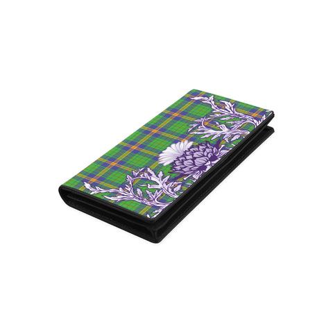 New Mexico Tartan Wallet Women's Leather Wallet A91 | Over 500 Tartan