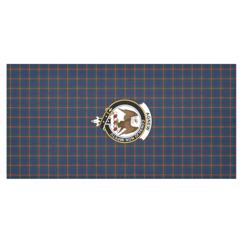 Image of Agnew Crest Tartan Tablecloth | Home Decor