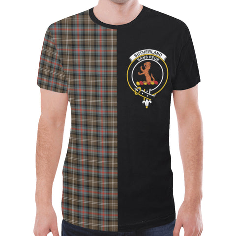 Image of Sutherland Weathered T-shirt Half In Me | scottishclans.co