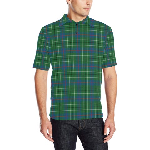 Image of Duncan Ancient  Tartan Polo Shirt