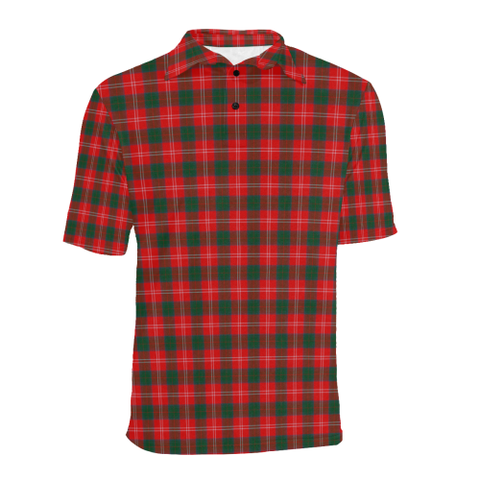 Image of Chisholm Modern  Tartan Polo Shirt HJ4