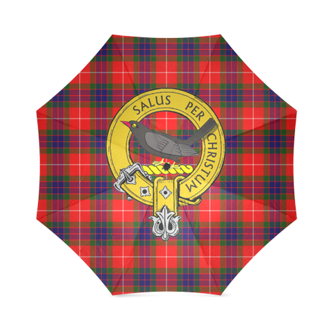 Image of Abernethy Crest Tartan Umbrella TH8