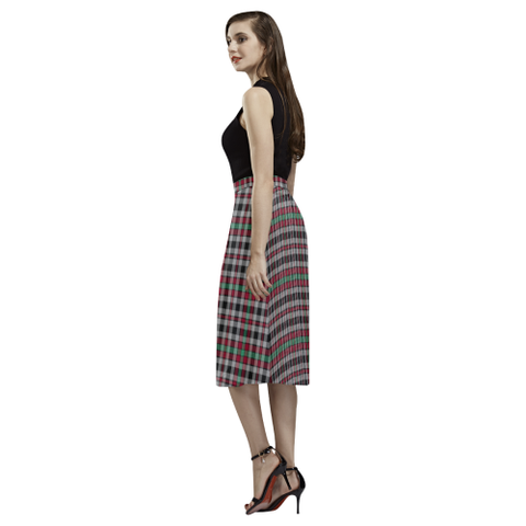 Borthwick Ancient  Tartan Aoede Crepe Skirt | Exclusive Over 500 Tartan