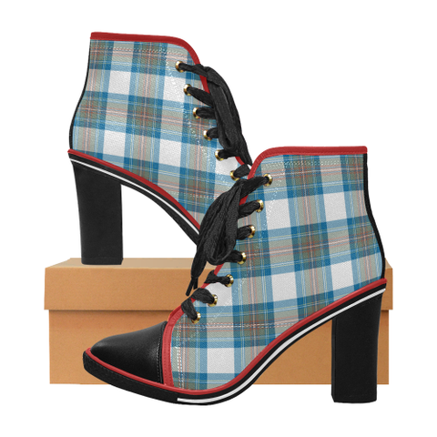 Tartan Heel - Stewart Muted Blue | Hot Sale | Online Orders Only | 500 Tartans