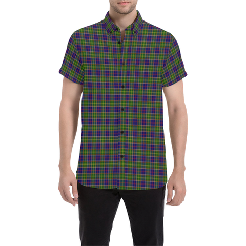 Tartan Shirt - Ayrshire District | Exclusive Over 500 Tartans | Special Custom Design