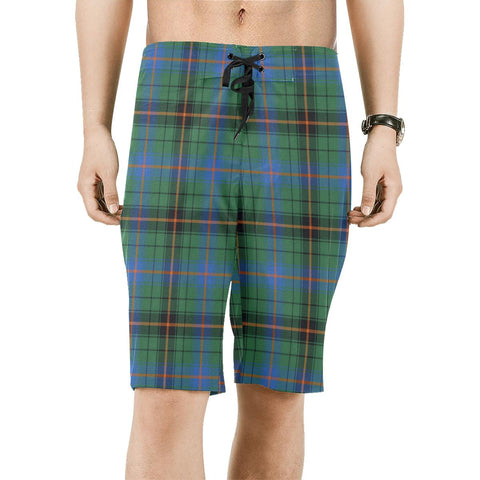 Davidson Ancient Tartan Board Shorts | scottishclans.co