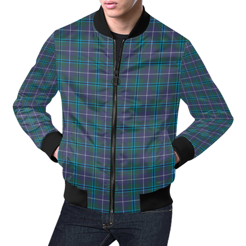 Douglas Modern Tartan Bomber Jacket | Scottish Jacket | Scotland Clothing