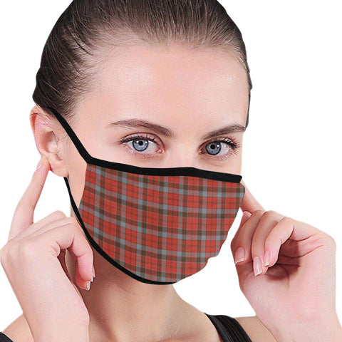 Image of Robertson Weathered Tartan Mouth Mask Inner Pocket K6 (Combo)