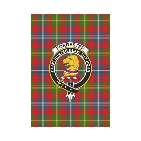 Forrester Tartan Flag Clan Badge | Scottishclans.co
