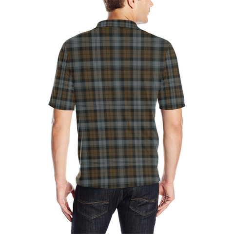 BlackWatch Weathered Tartan Polo Shirt HJ4