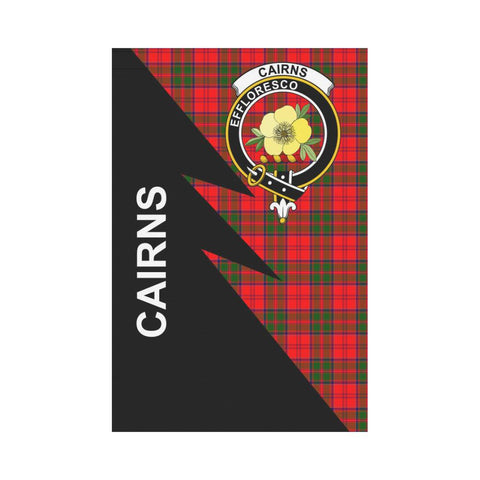 "Cairns Tartan Garden Flag - Flash Style 12"" x 18"""