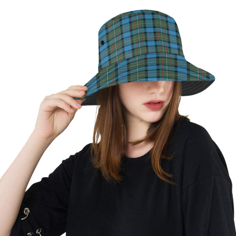 Image of Fergusson Ancient Tartan Bucket Hat for Women and Men | Scottishclans.co