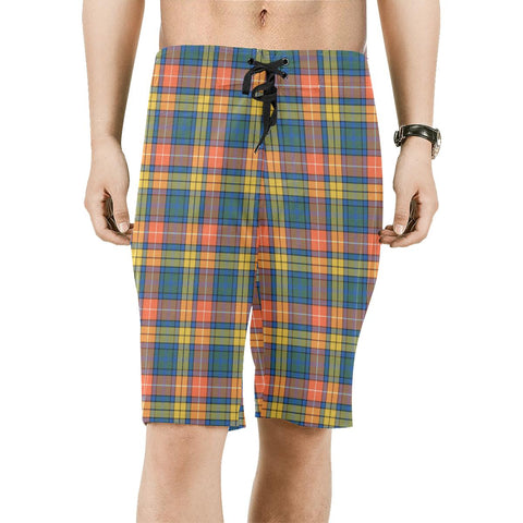 Buchanan Ancient Tartan Board Shorts | scottishclans.co