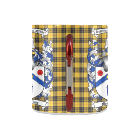 Image of McClure Tartan Mug Classic Insulated - Clan Badge K7