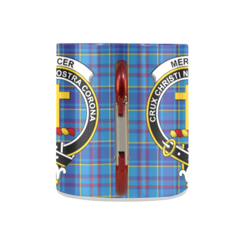 Mercer Modern Tartan Mug Classic Insulated - Clan Badge K7