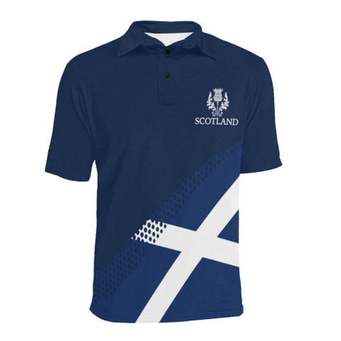 Image of Macdonald Lion Tartan Polo Shirts HJ4