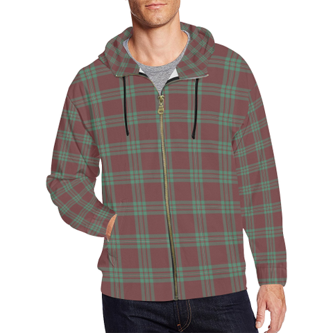 MacGregor Hunting Ancient Tartan Zipped Hoodie | Special Custom Products