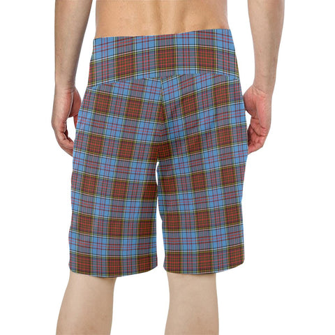 Image of Anderson Modern Tartan Board Shorts TH8
