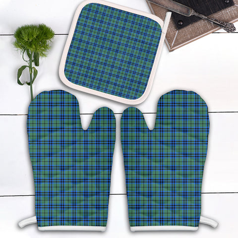 Falconer Clan Tartan Scotland Oven Mitt And Pot-Holder (Set Of Two)