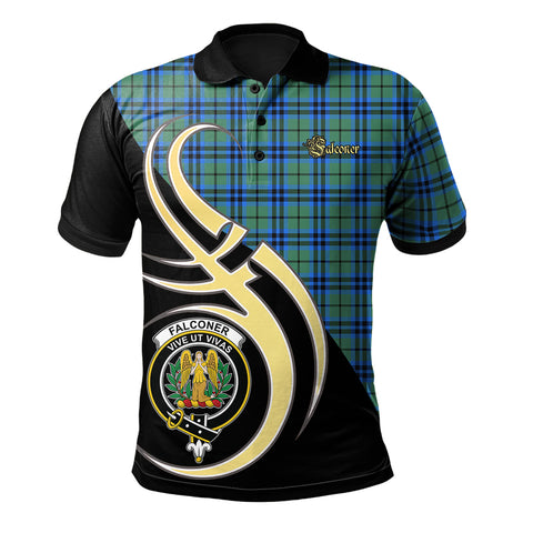 Falconer Clan Believe In Me Polo Shirt