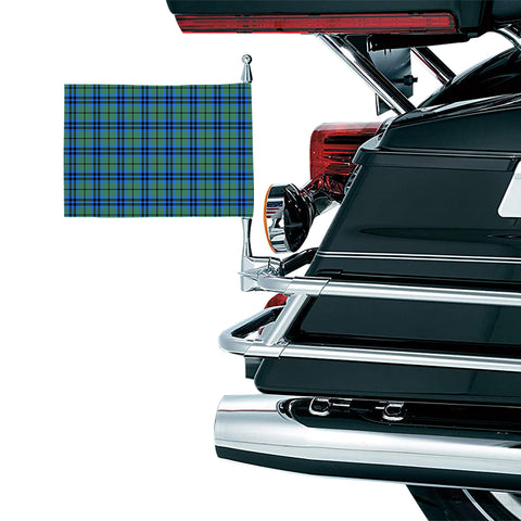 Falconer Clan Tartan Motorcycle Flag