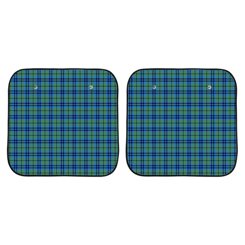 Falconer Clan Tartan Scotland Car Sun Shade 2pcs K7
