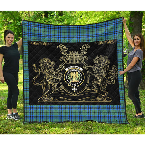 Falconer Clan Royal Lion and Horse Premium Quilt