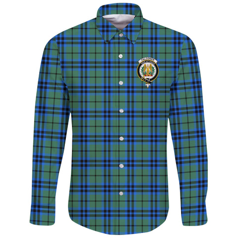 Falconer Tartan Clan Long Sleeve Button Shirt | Scottish Clan