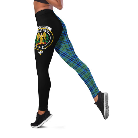 Falconer Crest Tartan Leggings | Over 500 Tartans | Special Custom Design