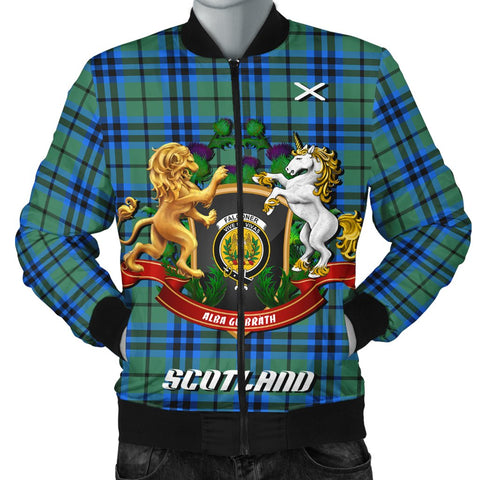 Falconer | Tartan Bomber Jacket | Scottish Jacket | Scotland Clothing