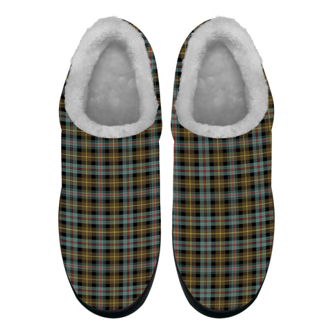 Farquharson Weathered Tartan Fleece Slipper (Women's/Men's) A7